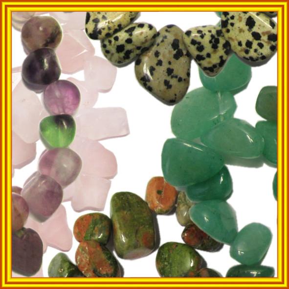Новое Поступление: Сколы Камня Крупные в Нитях. Код 6358 №159-165