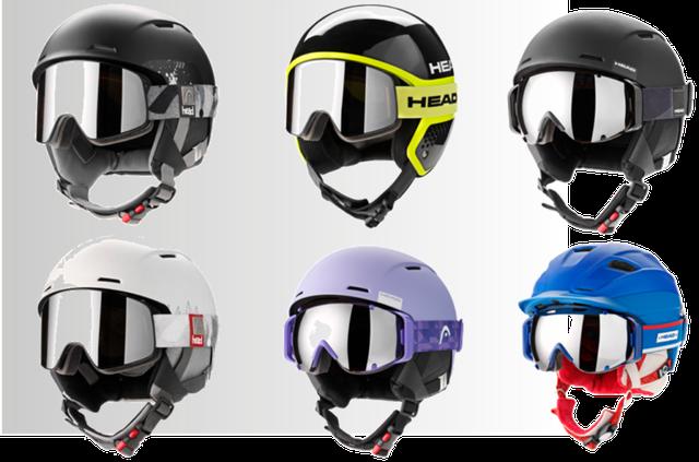 Лыжные очки, шлемы горнолыжные, защитная одежда