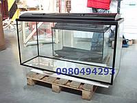 Аквариум 290л с крышкой стекло 10мм  120см-40-60Пересылка по Украине