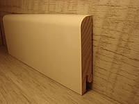 Плинтус белый деревянный напольный RAL9010 15*70*2400мм