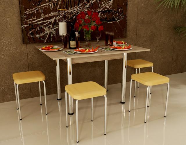 """Фото: набор """"Оскар-Чико"""", стол и 4 табурета"""