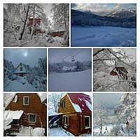 Домик ВИГВАМ горнолыжный курорт Красия 2018 - 2019 ( с.Вышка, гора Красия, р-н Шанхай )
