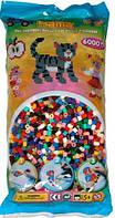 Термомозаика Hama Набор цветных бусин 6000 шт midi, 22 цвета (205-67)
