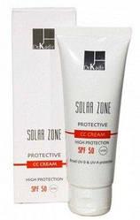 Защитный крем с тоном - Solar Zone Protective CC Cream SPF 50, 75 мл