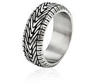 Кольцо из стали - шина,  для настоящих мужчин