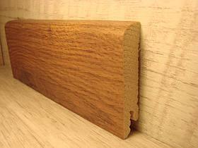 Плинтус деревянный напольный шпонированный Дуб Талли 15*70*2400мм