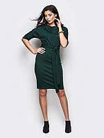 Класичне темно-зелене плаття-міді Sofia (S, M, L, XL)