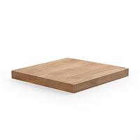 Столешница для стола деревянная, квадратная 900*900 мм. Для кафе, баров и ресторанов.