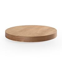 Столешница для стола деревянная, квадратная Д 600 мм. Для кафе, баров и ресторанов.