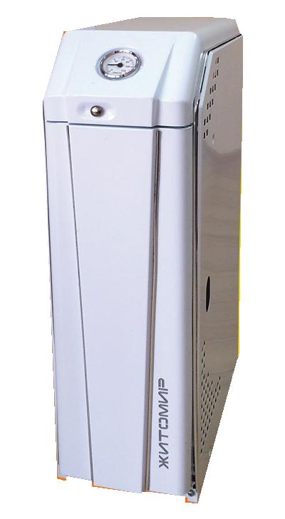 Дымоходный одноконтурный котел Житомир-3 КС-Г-007 СН Атем (выход дымохода назад)