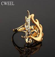Бижутерия Кольцо цвет золото