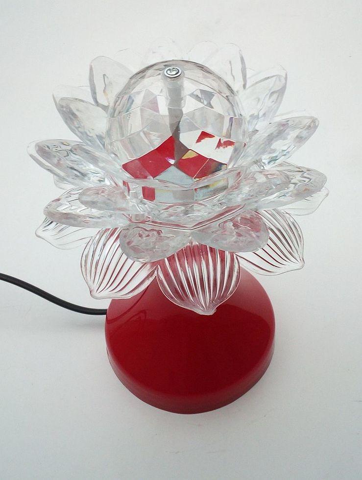 Настольный вращающийся проектор диско лампа
