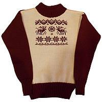 """Вязаный детский свитер из коллекции """"Вышиваночка"""""""