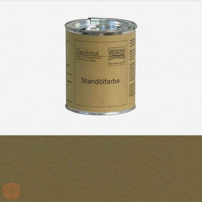 Натуральная Стандолевая масляная краска  Standölfarbe,  смешанный цвет № 24