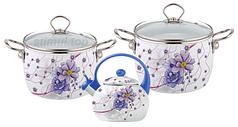 Набор эмалированной посуды 5 пр. Kamille