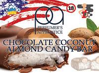 Chocolate Coconut Almond Candy ароматизатор TPA (Шоколадки с кокосом)