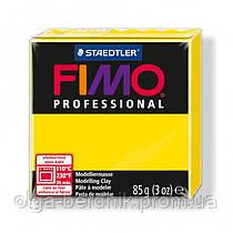 Пластика Professional, YELLOW №100, 85 гр, Fimo