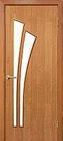 Двери межкомнатные Пальма ПО ольха, фото 1
