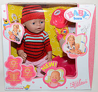 Zapf Creation Кукла-пупс Baby Born (реплика) 42 см очаровательная малышка 513/62-41