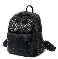 Рюкзак женский черный W 018