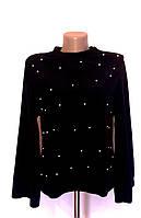 Женская флисовая нарядная кофточка