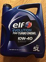 ELF Evolution 700 Turbo Diesel 10W-40 дизельное моторное масло