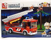 """Lego Пожарная 269 дет. """"Sluban"""""""