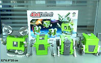 Конструктор Робот набор 4 в 1, на батарейке, DIY002