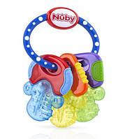 Іграшка-прорізувач з термогелем Ключики Nuby 455