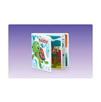 Первая детская книжка c пищалкой Nuby 6m+