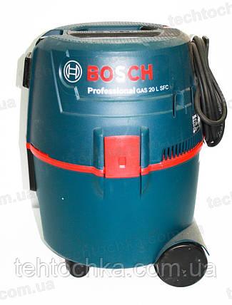 Пылесос промышленный BOSCH GAS 20L SFC, фото 2