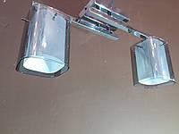 Люстра хромированая на два плафона 1129G, фото 1
