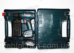 Аккумуляторный шуруповерт BOSCH GSR 140 - LI, фото 2