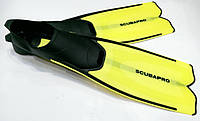 Ласты для плавания Scubapro Fluida 2; жёлтые, фото 1