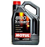 Масло Motul 5W30 8100 X-CLEAN+ ПЛЮС C3-504/507 (229.52)  5L