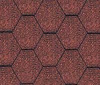 Битумная черепица KATEPAL Classic KL, красный, 3 м.кв./упаковка