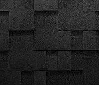 Битумная черепица KATEPAL Super Rocky, черный, 3 м.кв./упаковка
