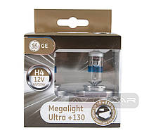 General Electric Megalight Ultra +130% Н4 2шт. 50440XNU