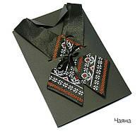 Женский кросс-галстук с вышивкой «Чаяна», фото 1