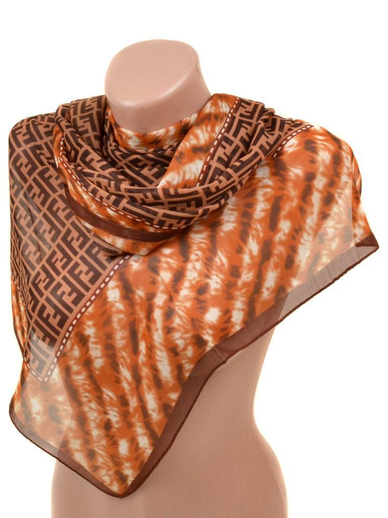 Шифоновый платок на шею