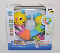 """Развивающая игрушка Limo Toy 9182  """"Веселая Гусеница""""  KHT"""