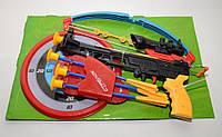 Арбалет М0005 стрелы на присосках, прицел, лазер 513/00-8