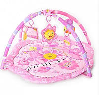 Развивающий коврик Bambi 1551 розовый YNA