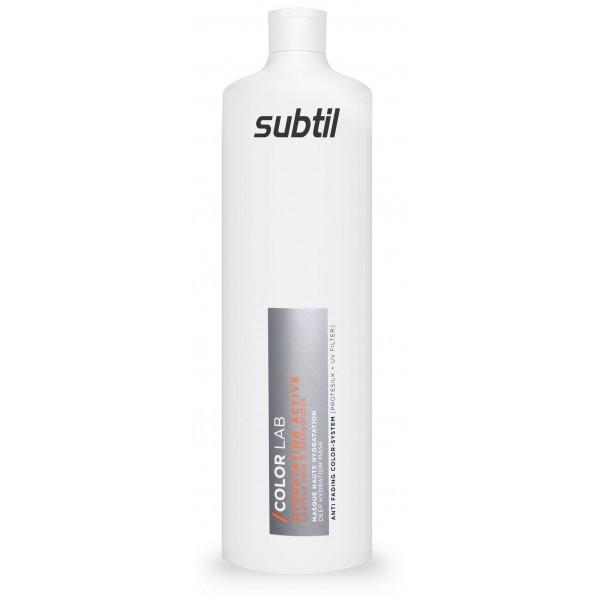 Интенсивная маска для придания увлажнения сухих и повреждённых волос Ducastel subtil Color Lab 1000 мл