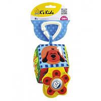 Погремушка с прорезывателем K's Kids Мой первый кубик 10636