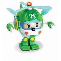 Машинка-трансформер Хели с подсветкой 12,5 см Robocar Poli / Робокар Полли