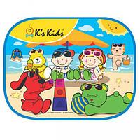 """Солнцезащитная шторка в машину K'S Kids """"Пляж"""""""