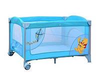 Детский манеж Bambi A 03-8 Винни Пух (голубой) KHT