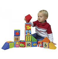 Мягкие развивающие кубики K's Kids 9m+