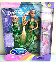 Кукла Русалочка DEFA с дочкой, в коробке арт. 20978 YNA /5-6